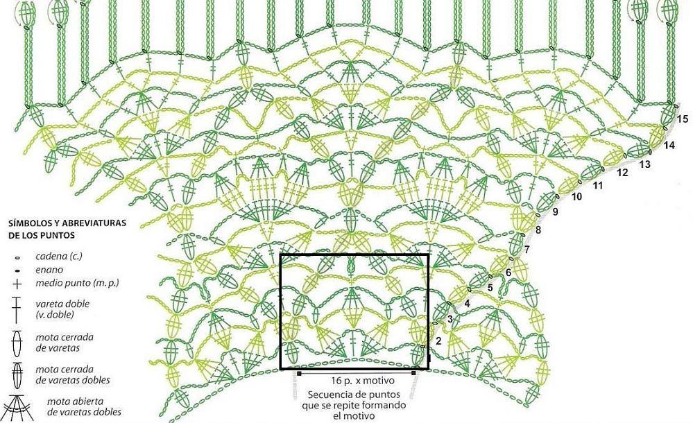 Схема Вязания Крючком Лилии