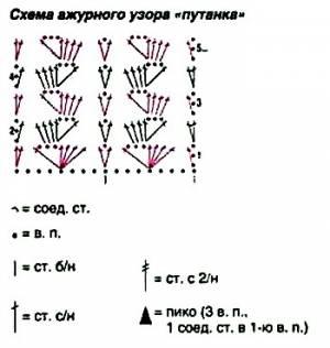 вязание крючком цветок вьюнок схемы и описание