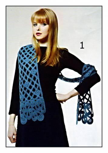 Шапки, шарфы, снуды Вязание спицами, крючком, уроки вязания 16