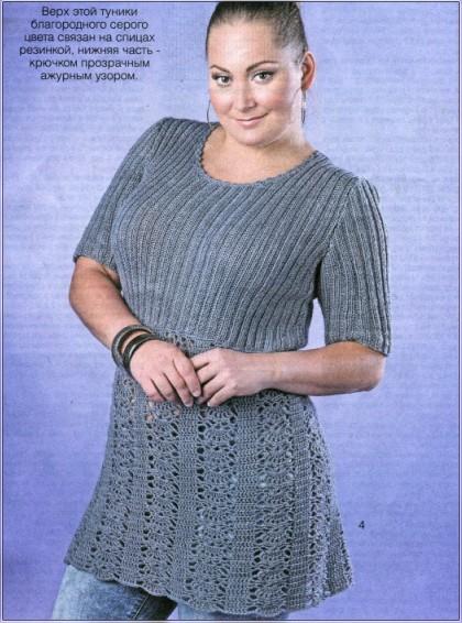 вязание безрукавки для женщины