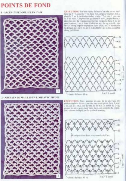 Сайт о вязании крючком: бесплатные схемы вязания, модели вязания крючком.